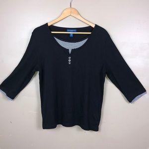 Karen Scott Sport shirt P119